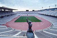Barcellona, Spagna, Catalogna, stadio olimpico