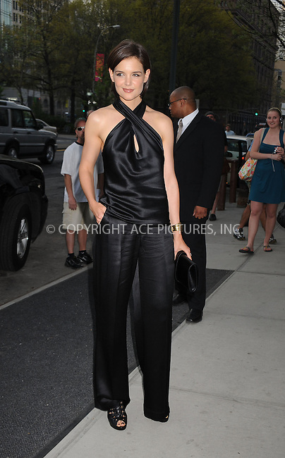 WWW.ACEPIXS.COM . . . . . ....April 25 2009, New York City....Actress Katie Holmes arriving at a celebration for the 30th anniversary of the Independent Filmmaker Project at the Cooper Square Hotel on April 25, 2009 in New York City.....Please byline: KRISTIN CALLAHAN - ACEPIXS.COM.. . . . . . ..Ace Pictures, Inc:  ..tel: (212) 243 8787 or (646) 769 0430..e-mail: info@acepixs.com..web: http://www.acepixs.com