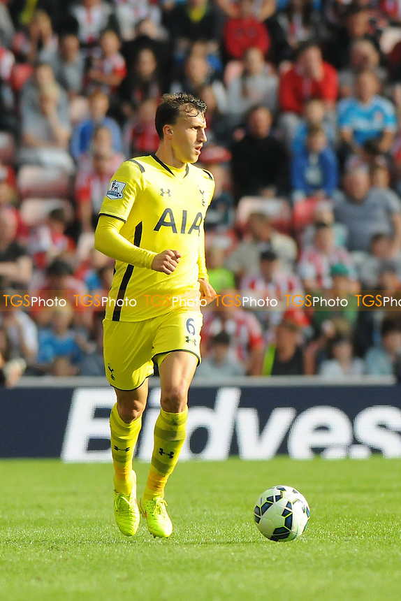 Vlad Chiricheş of Tottenham Hotspur - Sunderland vs Tottenham Hotspur - Barclays Premier League Football at the Stadium of Light, Sunderland - 13/09/14 - MANDATORY CREDIT: Steven White/TGSPHOTO - Self billing applies where appropriate - contact@tgsphoto.co.uk - NO UNPAID USE