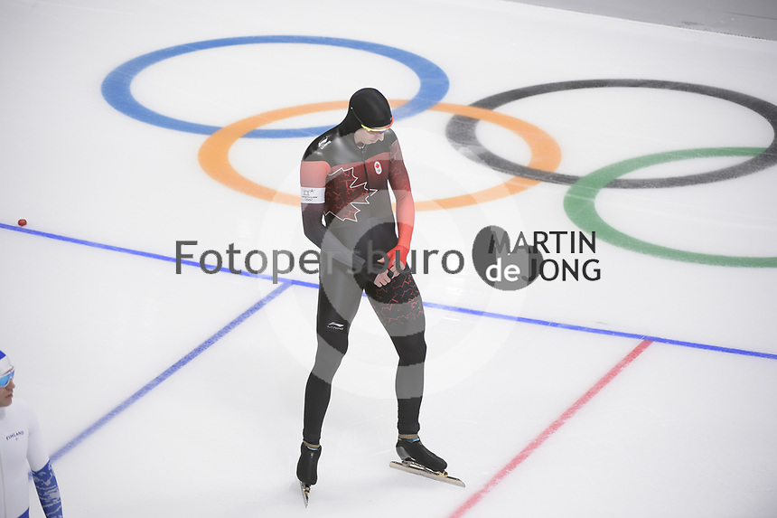 OLYMPIC GAMES: PYEONGCHANG: 19-02-2018, Gangneung Oval, Long Track, 500m Men, Alex Boisvert-Lacroix (CAN), ©photo Martin de Jong
