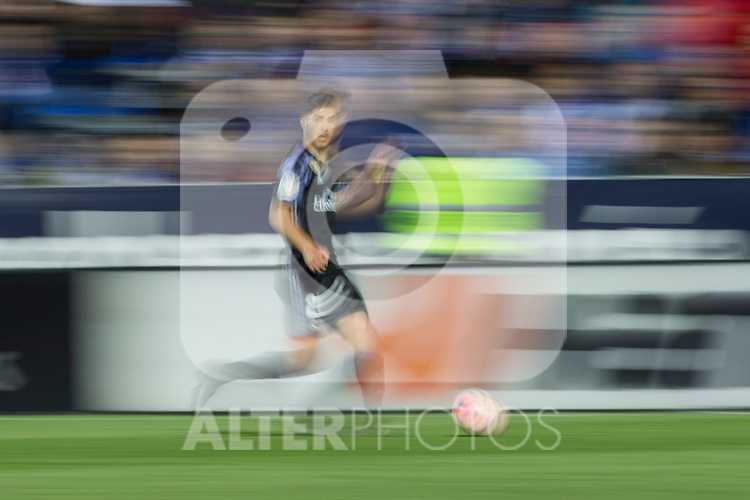 Marco Asensio of Real Madrid during the match of  La Liga between Club Deportivo Leganes and Real Madrid at Butarque Stadium  in Leganes, Spain. April 05, 2017. (ALTERPHOTOS / Rodrigo Jimenez)