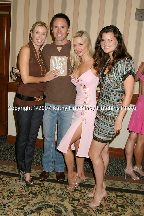 Katherine Kelly Lang, William deVry, Jennifer Gareis, and Heather Tom.Bold & the Beautiful Fan Luncheon.Universal Sheraton Hotel.Los Angeles,  CA.Aug 25, 2007.©2007 Kathy Hutchins / Hutchins Photo....