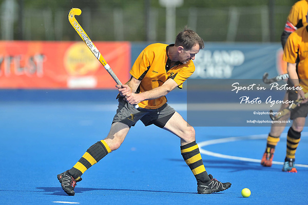 FOTHERBY Kean (Bournemouth). Bournemouth v Bowdon (Men's Over 50's Shield Final). Pitch 2. Men's Knockout Finals 2017. Lee Valley Hockey and Tennis Centre. London. UK. 29/04/2017. ~ MANDATORY CREDIT Garry Bowden/SIPPA - NO UNAUTHORISED USE - +44 7837 394578