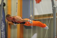TURNEN: HEERENVEEN: 19-09-2015, Turninterland | In voorbereiding op WK turnen in Glasgow, herenturnen in Heerenveen, interland Nederland -Italië- België, Winnaar Team Nederland, Yuri van Gelder, ©foto Martin de Jong