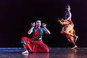 "23.11.2018. In its second year at Sadler's Wells, Darbar Festival welcomes some of the most exciting names in classical Indian dance, curated by Sadler's Wells Associate Artist Akram Khan. In the first performance of the festival, Renjith Babu and Neha Mondal Chakravarty present ""An Evening of Bharatanatyam"" by the bharatanatyam and contemporary artist Mavin Khoo. The second evening of the programme, ""Adventures in Odissi and Kathak"", combines two classical Indian dance forms in solo performances by Sujata Mohapatra and Gauri Diwakar.<br /> Winner of the 2017 Sangeet Natak Akademi award for outstanding contribution to odissi, Sujata Mohapatra performs work that treads the line between odissi dance and theatre. Multi award-winning kathak dancer Gauri Diwakar performs Hari Ho...Gati Meri (""Let my salvation be in the supreme""), a solo choreographed by Aditi Mangaldas.<br /> <br /> Pictured: Renjith Babu and Neha Mondal Chakravarty in ""An Evening of Bharatanatyam"" by the bharatanatyam and contemporary artist, Mavin Khoo.<br /> <br /> Photograph © Jane Hobson."