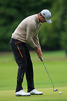 Niklas Lindstrom (SWE) on the 10th green during Round 2 of the Bridgestone Challenge 2017 at the Luton Hoo Hotel Golf &amp; Spa, Luton, Bedfordshire, England. 08/09/2017<br /> Picture: Golffile | Thos Caffrey<br /> <br /> <br /> All photo usage must carry mandatory copyright credit     (&copy; Golffile | Thos Caffrey)