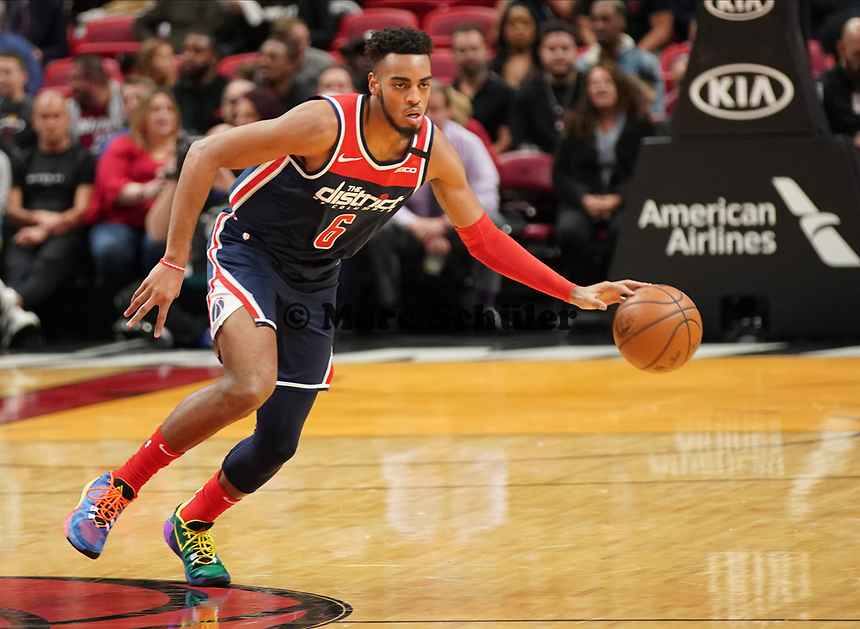 Troy Brown Jr (F, Washington Wizards, #6) - 22.01.2020: Miami Heat vs. Washington Wizards, American Airlines Arena