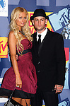 LOS ANGELES, CA. - September 07: TV personality Paris Hilton and musician Benji Madden pose in the press room at the 2008 MTV Video Music Awards at Paramount Pictures Studios on September 7, 2008 in Los Angeles, California.