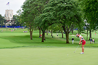 Su Oh (AUS) watches her putt on 10 during Friday's round 2 of the 2017 KPMG Women's PGA Championship, at Olympia Fields Country Club, Olympia Fields, Illinois. 6/30/2017.<br /> Picture: Golffile | Ken Murray<br /> <br /> <br /> All photo usage must carry mandatory copyright credit (&copy; Golffile | Ken Murray)