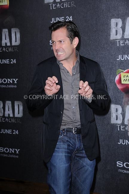 WWW.ACEPIXS.COM . . . . . .June 20, 2011...New York City...Tom Lennon attends the premiere of 'Bad Teacher' at the Ziegfeld Theatre on June 20, 2011 in New York City.....Please byline: KRISTIN CALLAHAN - ACEPIXS.COM.. . . . . . ..Ace Pictures, Inc: ..tel: (212) 243 8787 or (646) 769 0430..e-mail: info@acepixs.com..web: http://www.acepixs.com .