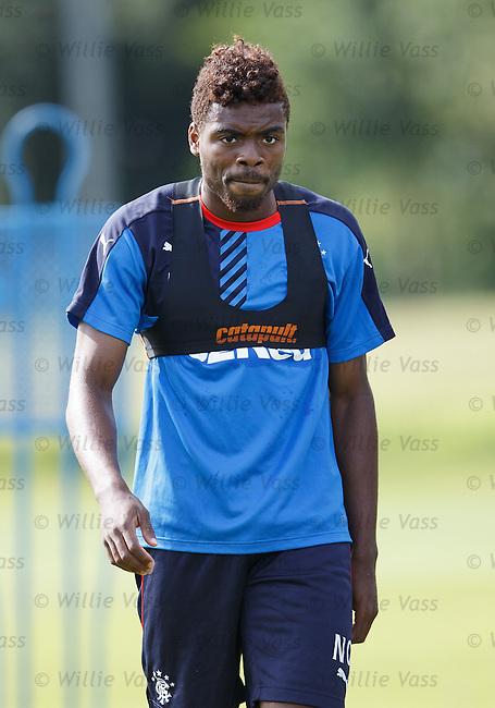 Nathan Oduwa reflecting on his debut at Alloa