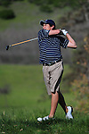 April 18, 2012; Hollister, CA, USA; Gonzaga Bulldogs golfer Oliver Grabb during the WCC Golf Championships at San Juan Oaks Golf Club.