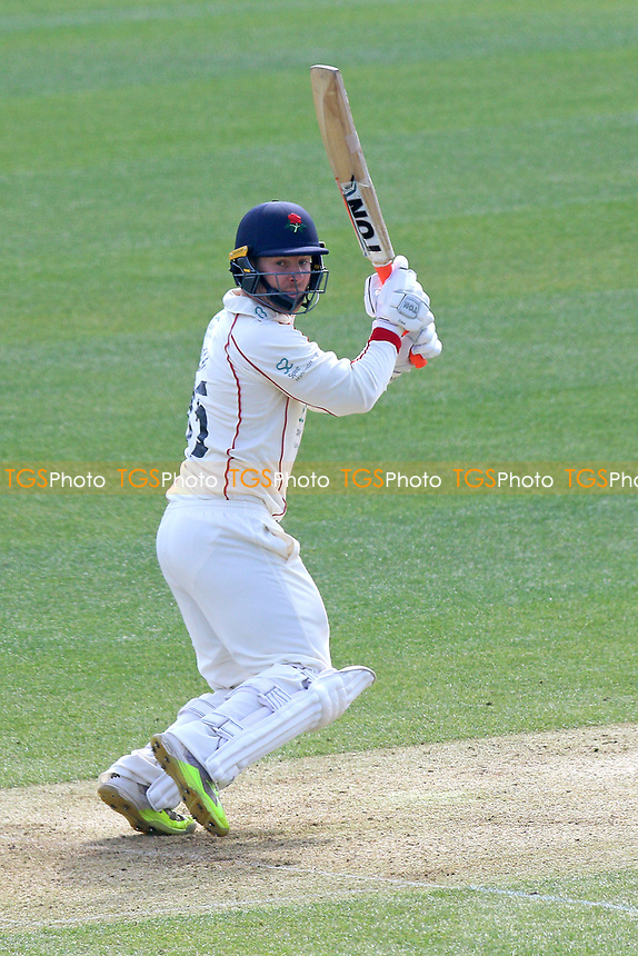 Steven Croft in batting action for Lancashire during Essex CCC vs Lancashire CCC, Specsavers County Championship Division 1 Cricket at The Cloudfm County Ground on 7th April 2017