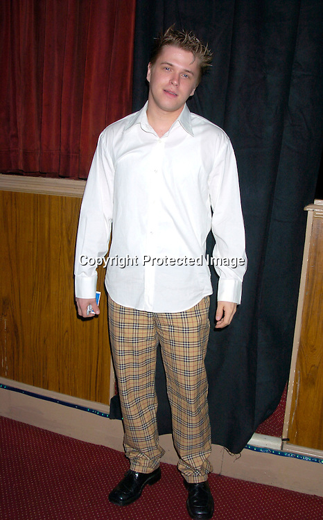"David Tom ..at The Broadway opening of ""Prymate"" on May 5, 2004 ..starring Heather Tom, Phyllis Frelich, Andre De Shields and ..James Naughton at the Longacre Theatre in New YOrk City. ..Photo by Robin Platzer, Twin Images"