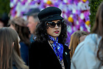 November 3, 2018 : A woman dressed to the nines on Breeders Cup World Championships Saturday at Churchill Downs on November 3, 2018 in Louisville, Kentucky. Bill Denver /Eclipse Sportswire/CSM