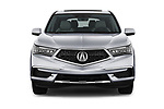 Car photography straight front view of a 2020 Acura MDX Standard 5 Door SUV