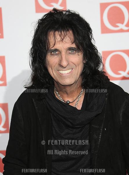 Alice Cooper arriving for The Q Awards 2012 held at the Grosvenor Hotel, London. 22/10/2012 Picture by: Henry Harris / Featureflash