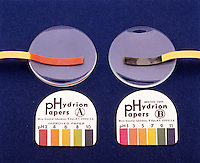 pH TEST PAPER: UNIVERSAL INDICATOR PAPER<br />