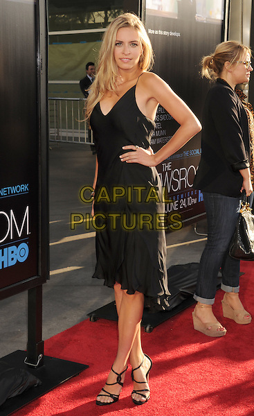 "Margaret Judson.HBO's ""The Newsroom"" Los Angeles Premiere held at The Cinerama Dome, Hollywood, California, USA..June 20th, 2012.full length hand on hip black dress.CAP/ROT/TM.©Tony Michaels/Roth Stock/Capital Pictures"