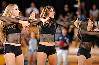 28 January 2012:  FIU's Golden Dazzlers entertain the crowd during half-time as the Western Kentucky University Hilltoppers defeated the FIU Golden Panthers, 61-51, at the U.S. Century Bank Arena in Miami, Florida.