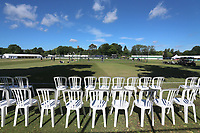 General view of the ground ahead of Surrey CCC vs Essex CCC, Specsavers County Championship Division 1 Cricket at Guildford CC, The Sports Ground on 10th June 2017