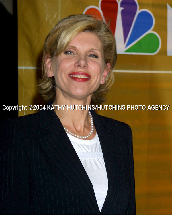 ©2004 KATHY HUTCHINS / HUTCHINS PHOTO.NBC TV TCA WINTER PRESS TOUR.PARTY.HOLLYWOOD, CA.JANUARY 14, 2004..CHRISTINE BARANSKI