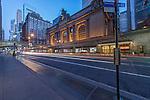 USA, NY, New York, Grand Central Terminal at Dawn