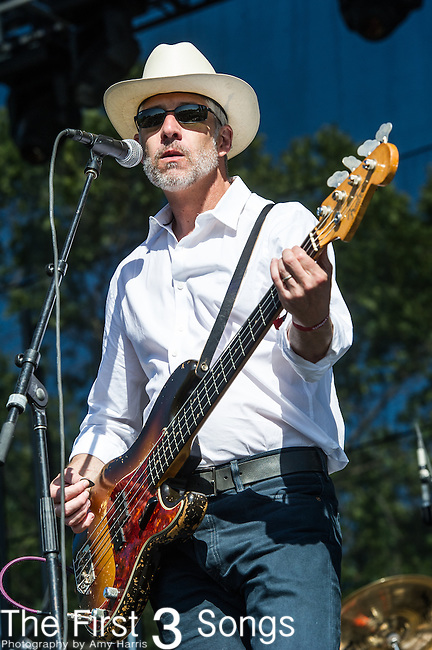 Victor Krummenacher of Camper Van Beethoven performs at the 2nd Annual BottleRock Napa Festival at Napa Valley Expo in Napa, California.