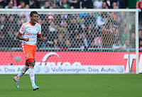 FUSSBALL   1. BUNDESLIGA  SAISON 2012/2013   6. Spieltag  29.09.2012 SV Werder Bremen - FC Bayern Muenchen    JUBEL FC Bayern; Torschuetze zum 1-0 Luiz Gustavo