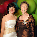 Sarah Rabinow Pesikoff and Kathryn Rabinow at the Children's Museum Gala Saturday Oct. 16, 2010. (Dave Rossman/For the Chronicle)