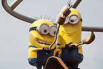 The Despicable Me Minion Mayhem ride at Universal Studios Hollywood in Los Angeles, CA