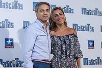 Spanish periodist Vicente Valles and Angeles Blanco during the premiere of  Mascotas at Kinepolis cinema in Madrid. July 21, 2016. (ALTERPHOTOS/Rodrigo Jimenez) /NORTEPHOTO.COM