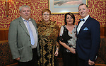 Pictured at the Westport GAA Club dinner dance at Hotel Westport were Austin and Carmel Groden and Annette and Paul McLoughlin. <br /> Pic Conor McKeown