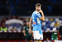 1st December 2019; Stadio San Paolo, Naples, Campania, Italy; Serie A Football, Napoli versus Bologna; Fernando Llorente reflects on a missed goal scoring chance - Editorial Use