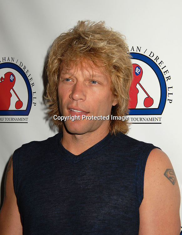 "Jon Bon Jovi ..at The Kick-off Party for the Strahan/Dreier LLP Charity..Golf Tournament on July 9, 2006 at TAO. The tournament ..will benefit the ""Take The Field"" Charity and ""Student Sponsors Partners""...Robin Platzer, Twin Images"
