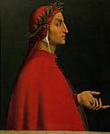 """Dante Alighieri, italienischer Dichter (1265-1321) , der die """"""""Gottliche Komödie"""""""" schrieb. Inv. 8066 Schloss Ambras, Portraitgalerie, Österreich<br /> <br /> - 01.01.1500-31.12.1500<br /> <br /> Dante Alighieri, Italian poet (1265-1321) who wrote the """"""""Divina Commedia"""""""". Inv. 8066<br /> <br /> - 01.01.1500-31.12.1500"""
