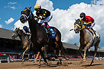 August 22, 2020: Super Dude #3, ridden by Irad Ortiz Jr., wins the 4th race on The  FourStarDave day at Saratoga Race Course in Saratoga Springs, New York. Rob Simmons/CSM
