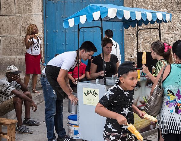 Street food, La Habana Vieja