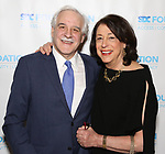 """Ron Shechtman and Lynne Meadow during The """"Mr. Abbott"""" Award 2019 at The Metropolitan Club on 3/25/2019 in New York City."""