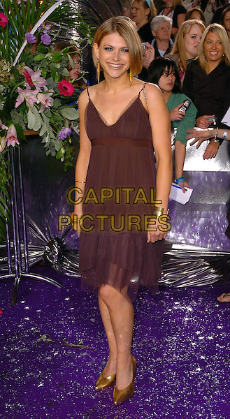 JENNY PLATT.The Brtish Soap Awards - Arrivals,.BBC Television centre, London, .May 20th 2005..full length brown dress.Ref: CAN.www.capitalpictures.com.sales@capitalpictures.com.©Can Nguyen/Capital Pictures