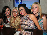 Jennifer Smith celebrating her 30th birthday in Barroco at the Westcourt hotel with friends Samantha Rank, Danielle O'Reilly and Irene Rowan. Photo: Colin Bell/pressphotos.ie