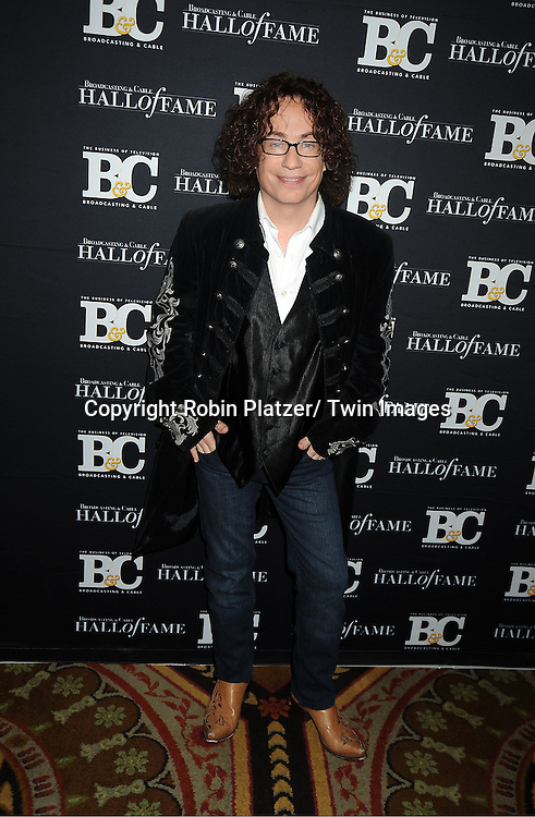 Mike Darnell, of American Idol  attends the 2011 Broadcasting & Cable Hall of Fame Awards on October 26, 2011 at the Waldorf Astoria Hotel in New York City.