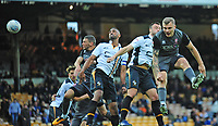 Lincoln City's James Wilson, left, scores his side's sixth goal, after Harry Anderson's flick on<br /> <br /> Photographer Andrew Vaughan/CameraSport<br /> <br /> The EFL Sky Bet League Two - Port Vale v Lincoln City - Saturday 13th October 2018 - Vale Park - Burslem<br /> <br /> World Copyright © 2018 CameraSport. All rights reserved. 43 Linden Ave. Countesthorpe. Leicester. England. LE8 5PG - Tel: +44 (0) 116 277 4147 - admin@camerasport.com - www.camerasport.com