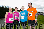 Liz O'Connor, Bridget McBride, Jemma O'Shea, Richard McBride at the Kingdom Come 10 miler and 5k race at Castleisland on Sunday