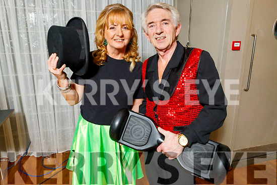 "Derry and Maureen Fleming ready to dance at the Tralee Musical Society ""Strictly Come Dancing"" Mr and Mrs in Ballyroe Heights Hotel on Saturday"