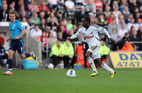 Pictured: Nathan Dyer of Swansea City in action. Saturday 17 September 2011<br /> Re: Premiership football Swansea City FC v West Bromwich Albion at the Liberty Stadium, south Wales.