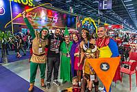 SÃO PAULO, SP, 06.12.2018 - CCXP - Marcelo Forlani, partner do Omelete durante a Comic Con Experience na São Paulo Expo no bairro da Água Funda, na região Sul da cidade de São Paulo nesta quinta-feira, 06. (Foto: Anderson Lira/Brazil Photo Press)