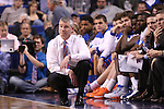 Boise State head coach Leon Rice watches play during the second half of the University of Kentucky men's basketball game vs. Boise State at Rupp Arena in Lexington, Ky., on Tuesday, December, 10, 2013. UK won 70-55. Photo by Jonathan Krueger | Staff