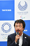 Kazuo Rikukawa, <br /> MAY 22, 2017 : The Tokyo Organising Committee of the Olympic and Paralympic Games announce the application requirements of the convention mascot in Tokyo, Japan. (Photo by AFLO)