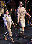 """Rachel Dratch and Jack McBrayer during the Manhattan Concert Productions 25th Anniversary concert performance of """"Crazy for You"""" at David Geffen Hall, Lincoln Center on February 19, 2017 in New York City."""